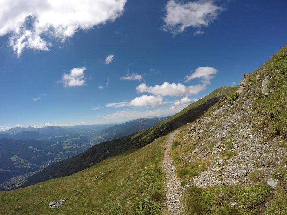 Traumhafter Ausblick beim AlpenX100
