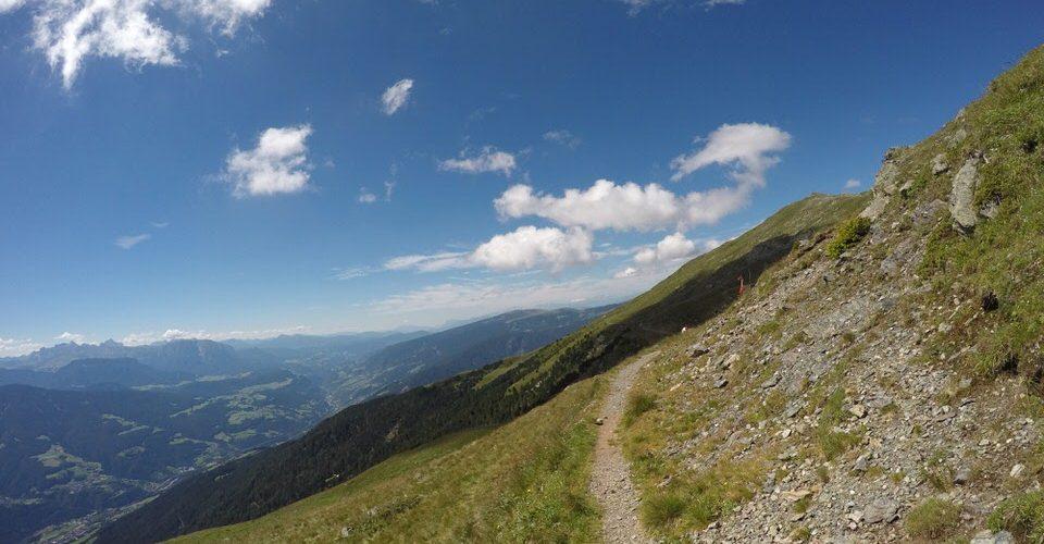 Wunderschöne Ausblicke bei Brixen in Südtirol