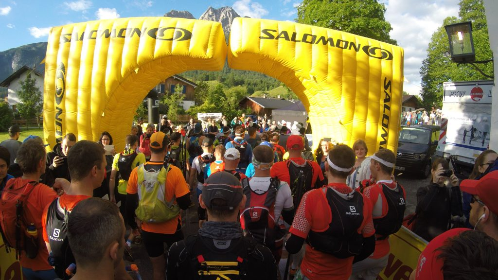 Start Zugspitz Ultratail