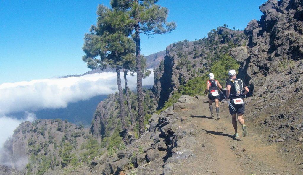 Toller Ausblick beim Transvulcania