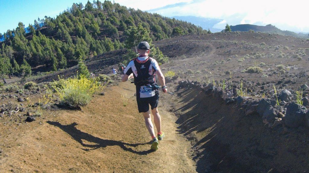 Downhill beim Transvulcania