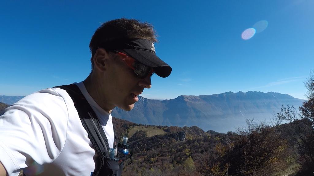 Ausblick beim Limone Skyrace auf den Monte Baldo