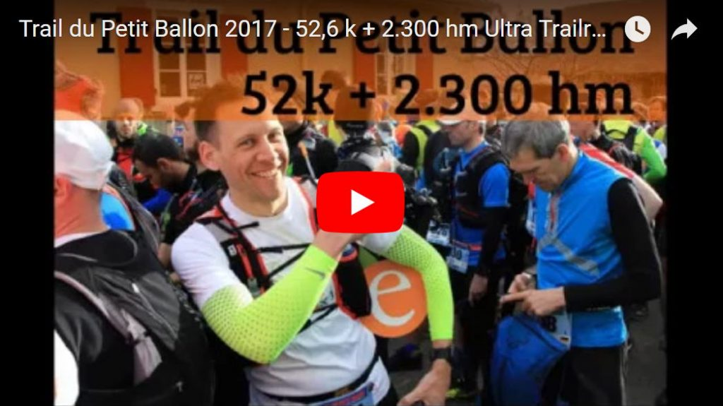 Video vom Trail du Petit Ballon 2017