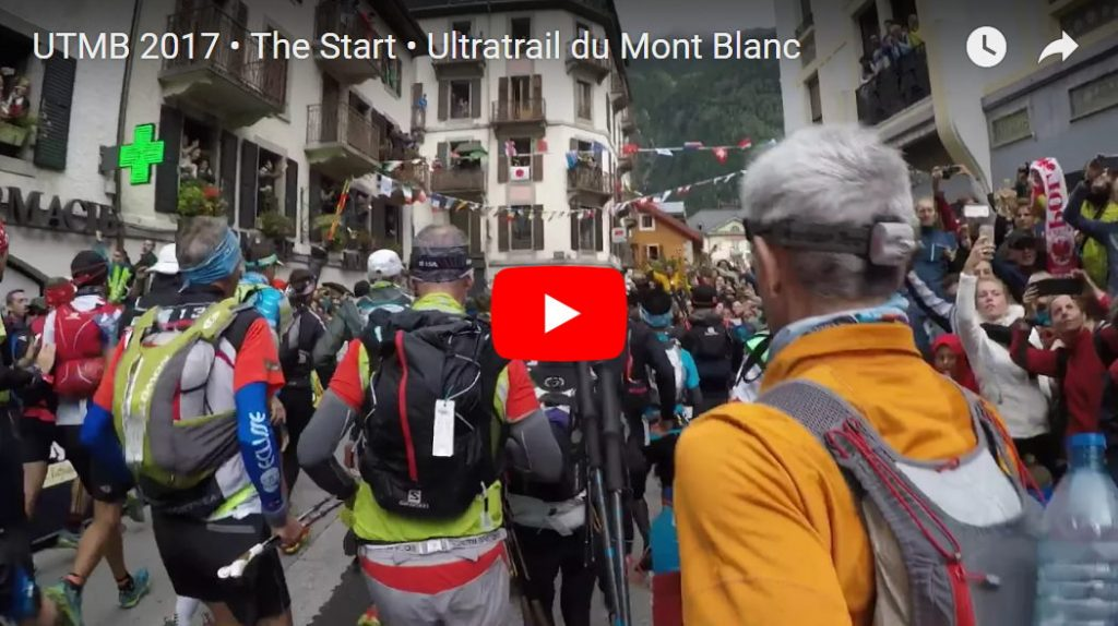 Video vom Start des UTMB 2017